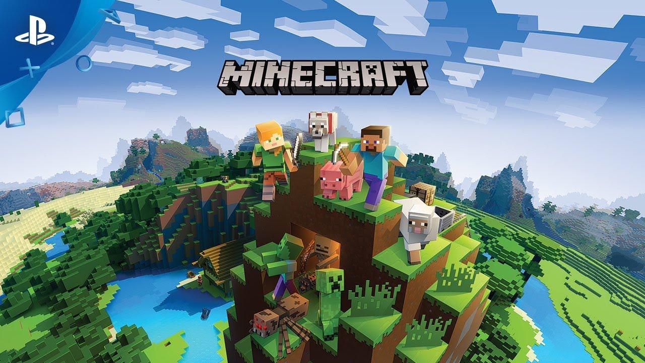 minecraft bedrock edition playstation 4 cross-play